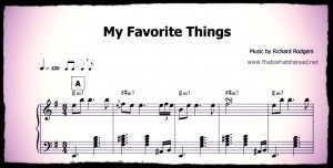 My Favorite Things Button